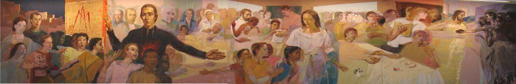 Familia Marista - Afresco Casa Geral