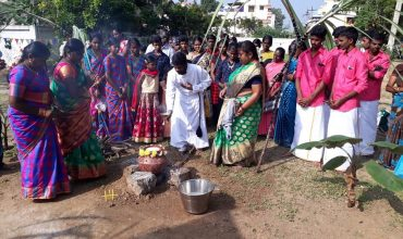 Rainbow family celebrated Pongal - India, 12 January 2020