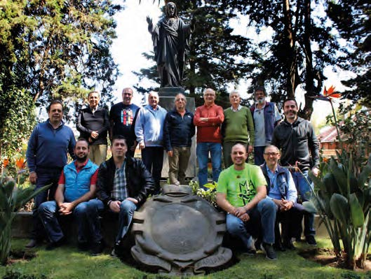 Meeting of the Councils of the Provinces of México Central and México Occidental