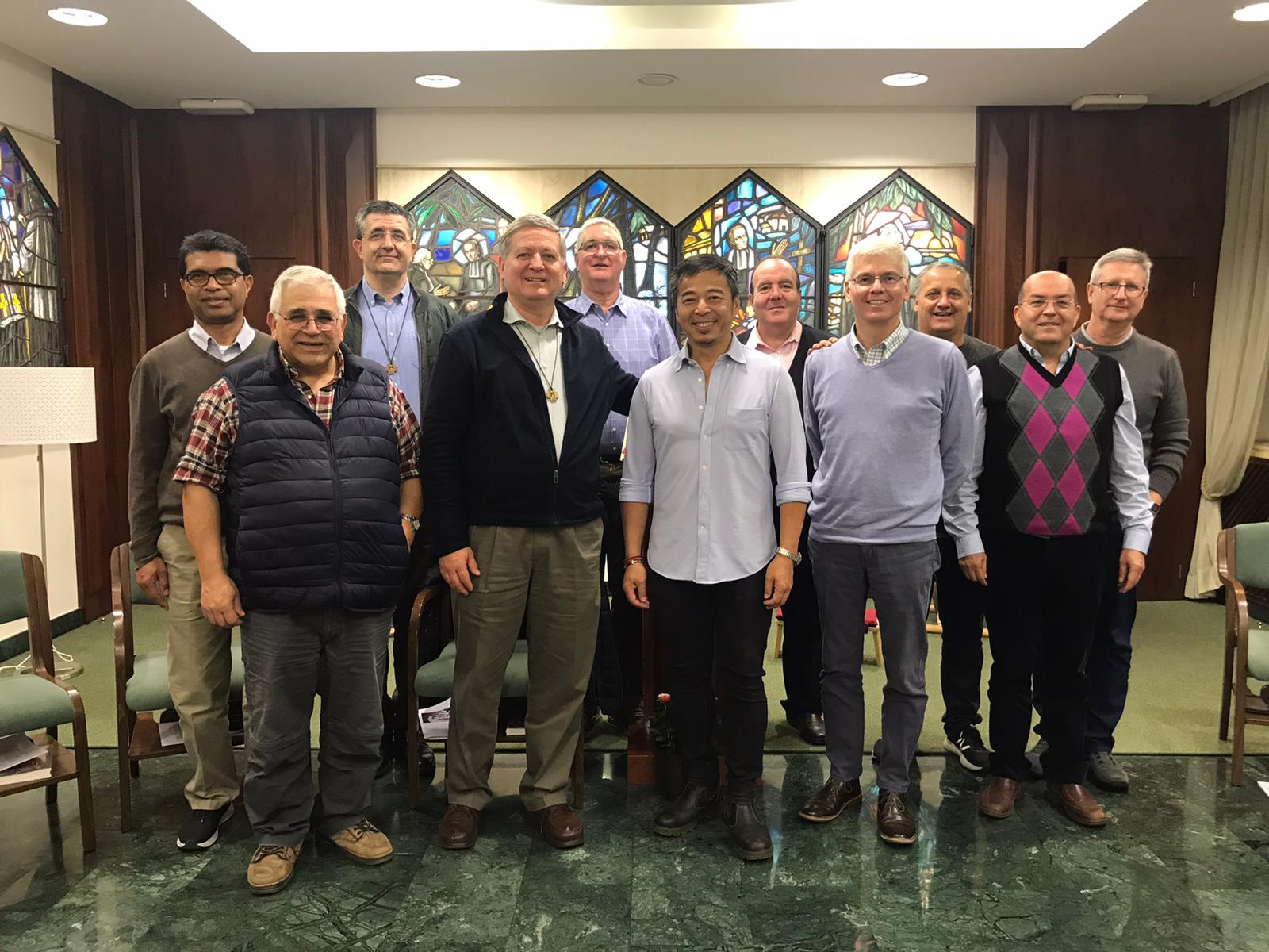 General Council and Br. Tony Leon