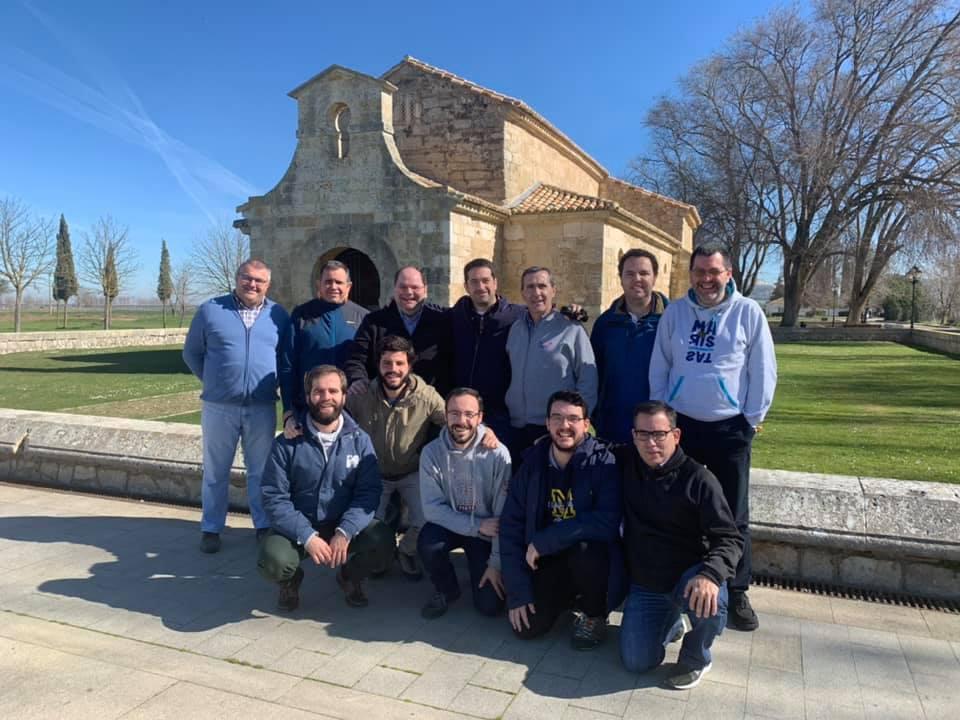 Reunión de hermanos jóvenes de la Provincia de Compostela, en Dueñas