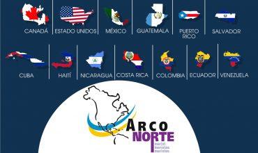 Países Región Arco Norte