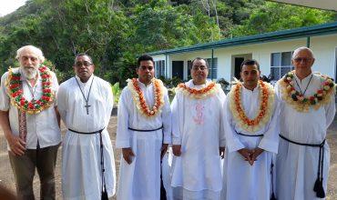 First Profession at Marist Brothers Pacific Novitiate in Lomeri, Fiji