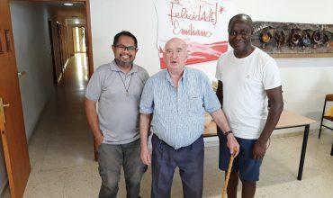 Valladolid - Irmãos Lindley Sionosa, Emiliano de Pablo e Mark Omede