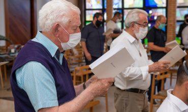 Missa em Ação de Graças pelos Primeiros Votos, Renovação de Votos e Irmãos Jubilares em Curitiba