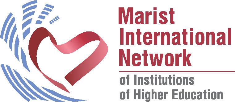 Linha visual da Rede Marista Internacional de Instituições de Educação Superior