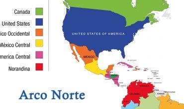 Mapa Región Marista Arco Norte