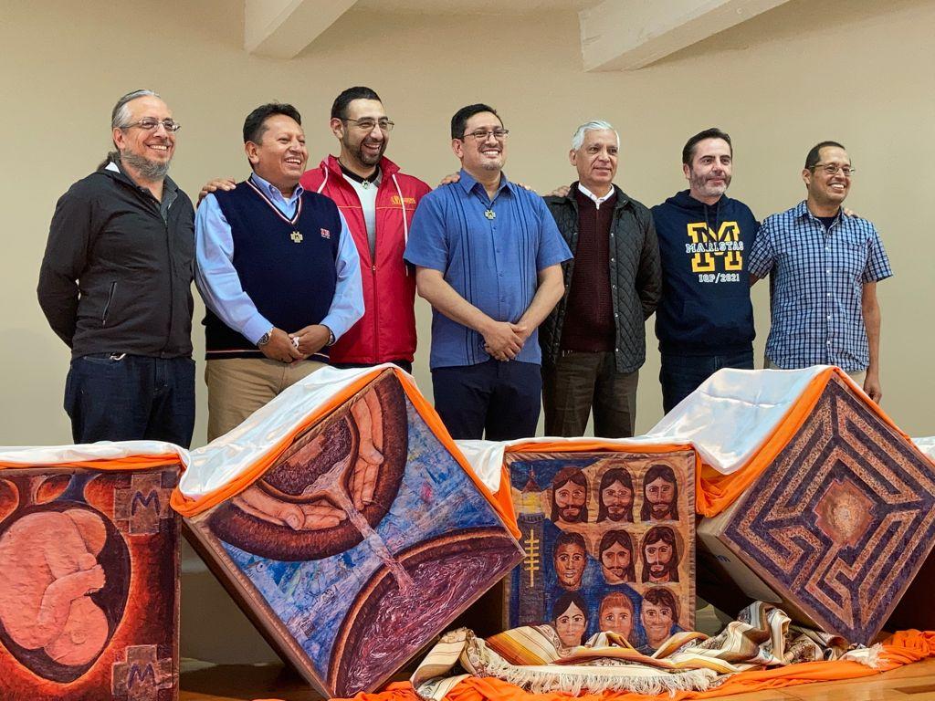 Nuevo Consejo de Mexico Central: Rodrigo Espinosa, Juan Jesus F. Hernández, Marco Antonio Soto, Juan Carlos Robles, Hugo Emerson y Juan Montufa