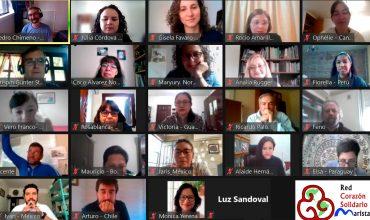 Red Interamericana Corazón Solidario Marista trata de la solidaridad marista en tiempos de pandemia